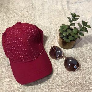 Lululemon Burgundy Cap